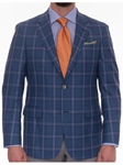 Reef with Windowpane Check Classic Fit Carmel Sport Coat S640CRJ0-01 - Robert Talbott Spring 2016 Collection Suits and Sport Coats - Custom and Ready-Made | Sam's Tailoring Fine Men's Clothing