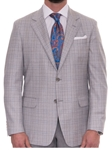Robert Talbott Dove Grey with Windowpane Check Classic Fit Carmel Sport Coat S621CRJ0-01 - Spring 2016 Collection Suits and Sport Coats - Custom and Ready-Made | Sam's Tailoring Fine Men's Clothing