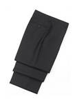 Flat Front Black Traveler Trousers | Hickey FreeMan Trousers Collection | Sams Tailoring