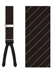 Richmond Stripe New Formal Silk Brace |  Trafalgar New Seasonal Braces | Sams Tailoring