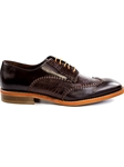 Belvedere Borgo Genuine Ostrich and Italian Calf D86 - Spring 2016 Collection Dress Shoes | Sam's Tailoring Fine Men's Clothing