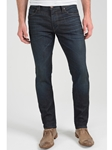 Dark Blue Pick Stitch Dean Skinny Jean - Dark Hero  | Eight Field of Freedom Skinny Jeans Collection 2016 | Sams Tailoring