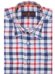 Red, White and Blue Plaid Sport Shirt |  Robert Talbott Sport Shirts Collection 2016 | Sams Tailoring