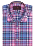 Multi-Colored Plaid Tailored Fit Sport Shirt TSM16076-01 - Robert Talbott Spring 2016 Collection Suits and Sport Coats - Custom and Ready-Made | Sam's Tailoring Fine Men's Clothing