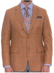 Robert Talbott Ember with Windowpane Carmel Sport Coat S601CRJ0-01 - Spring 2016 Collection Suits and Sport Coats - Custom and Ready-Made | Sam's Tailoring Fine Men's Clothing