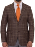 Robert Talbott Mocha with Glen Plaid Classic Fit Carmel Sport Coat S600CRJ0-01 - Spring 2016 Collection Suits and Sport Coats - Custom and Ready-Made | Sam's Tailoring Fine Men's Clothing