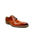 Cognac Veloce Wingtip Shoe| Jose Real New Shoes  collection 2016 | Sams Tailoring