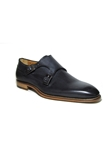 Antracite Double Monk Strap Shoe| Jose Real Men's collection 2016 | Sams Tailoring