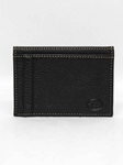 Black Tumbled Glove Leather ID/Card Case Wallet |  Torino Leather's Wallet collection | Sams Tailoring