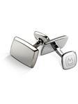 Brushed Stainless Cufflink | M-Clip New Cufflinks Collection 2016 | Sams Tailoring