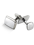 Polished Stainless Taperd Rectangle Cufflink | M-Clip New Cufflinks Collection 2016 | Sams Tailoring