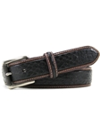 The Maddox Eel Pattern Italian Leather Belt | Bill Lavin New Belts Collection | Sams Tailoring