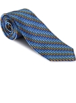 Robert Talbott Blue with Multi-Color Geometric Design Welch Margetson Best of Class Tie 58954E0-03 - Spring 2016 Collection Best Of Class Ties | Sam's Tailoring Fine Men's Clothing