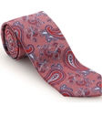 Robert Talbott Red with Paisley Design Corporate Best of Class Tie 57957E0-05 - Spring 2016 Collection Best Of Class Ties | Sam's Tailoring Fine Men's Clothing