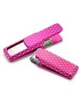 Solid Pink Slide with Polka Dots Money Clip | M-Clip New Money Clip | Sams Tailoring