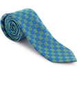 Robert Talbott Green with Small Box Geometric Design Welch Margetson Best of Class Tie 58963E0-03 - Spring 2016 Collection Best Of Class Ties | Sam's Tailoring Fine Men's Clothing