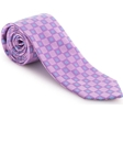Robert Talbott Pink with Small Box Geometric Design Welch Margetson Best of Class Tie 58963E0-04 - Spring 2016 Collection Best Of Class Ties | Sam's Tailoring Fine Men's Clothing