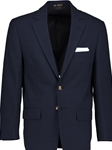 Traveler Navy Hopsack Classic Fit Blazer | HardWick New Blazer Collection 2018 | Sams Tailoring