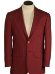 Burgundy Hopsack Classic Fit  Wool Blend Blazer | HardWick New Blazer Collection 2018 | Sams Tailoring