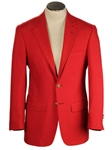 Regent Red Classic Fit Wrinkle Resistant Blazer | HardWick New Blazer Collection 2016 | Sams Tailoring