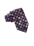 Robert Talbott Black with Purple Geometric Design Best Of Class Tie 04202E0-03 - Spring 2016 Collection Best Of Class Ties | Sam's Tailoring Fine Men's Clothing