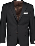 Black H-Tech Performance Modern Fit Wool Suit| HardWick Fall Suits Collection | Sams Tailoring