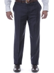 Robert Talbott Solid Navy Laguna Trouser F478TRLG-01 - Spring 2016 Collection Pants | Sam's Tailoring Fine Men's Clothing