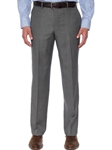 Robert Talbott Ash Gray Riley Trouser F475TRRI-01 - Spring 2016 Collection Pants | Sam's Tailoring Fine Men's Clothing