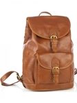 Tan Large Drawstring Backpack with Front Buckle Pocket | Aston Leather  Men's New Bags 2016 | Sams Tailoring