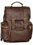 Brown Large Travel Backpack | Aston Leather  Men's New Bags 2016 | Sams Tailoring