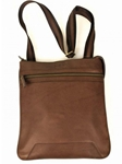 Brown vertical Shoulder Bag | Aston Leather New Bags  2016 | Sams Tailoring