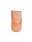 Tan Three Pen Leather Case | Aston Leather Men's Collection | Sams Tailoring