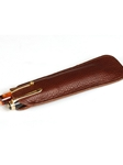 Brown Two Pen Slip | Aston Leather Men's Collection | Sams Tailoring