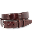 Genuine American Alligator Belt - Cognac 50507 - Torino Leather Exotic Belts | Sam's Tailoring Fine Men's Clothing