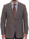 Multi-Color Carmel Sport Coat S502CRJ0-02 - Robert Talbott Spring 2016 Collection Suits and Sport Coats - Custom and Ready-Made | Sam's Tailoring Fine Men's Clothing
