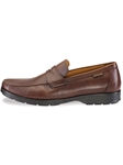 HOWARD - Dark Brown Desert 9251 Shoe | Mephisto Men's Loafer Shoes | Sams Tailoring