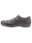 RAFAEL - Dark Brown Smooth 8851 Shoe | Mephisto Men's Loafer Shoes | Sams Tailoring