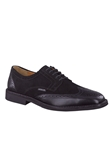 PAOLINO - Black Supreme/Suede 7300/9800 Shoe | Mephisto Men's Oxfords Shoes | Sams Tailoring