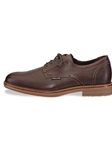 WAINO - Dark Brown Granit Shoe | Mephisto Men's Oxfords Shoes | Sams Tailoring