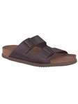 NERIO - Dark Brown Scratch 3451 | Mephisto Men's Sandals| Sams Tailoring