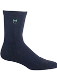 High Bulk Acrylic Technical Blue Socks | Mephisto Men's Socks | Sams Tailoring
