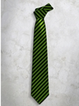 Classic Stripes Refined Silk Tie | Italo Ferretti Super Class Collection | Sam's Tailoring