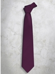 Violet Classic Stripes Refined Silk Tie | Italo Ferretti Super Class Collection | Sam's Tailoring