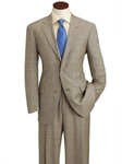 Hart Schaffner Marx Brown Plaid Suit 133-630437-051 - Suits | Sam's Tailoring Fine Men's Clothing