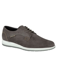 VALERIO - Dark Grey Suede 3652 Shoe | Mephisto Oxford Shoes | Sam's Tailoring