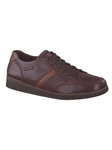BARRY - Dark Brown/Chestnut/Dark Taupe 2651/2678/2665 Shoe | Mephisto Oxford Shoes | Sam's Tailoring