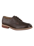 ORLANDO - Dark Brown Smooth 8851 Shoe | Mephisto Oxford Shoes | Sam's Tailoring