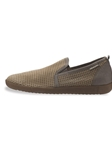 ULRICH - Taupe Sportbuck/Dark Taupe Empereur 1931/6565 Shoe | Mephisto Loafers Collection | Sam's Tailoring