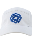 White Five Panel Hat | Betenly Golf Hats Collection | Sam's Tailoring