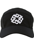 Black With White Five Panel Hat | Betenly Golf Hats Collection | Sam's Tailoring